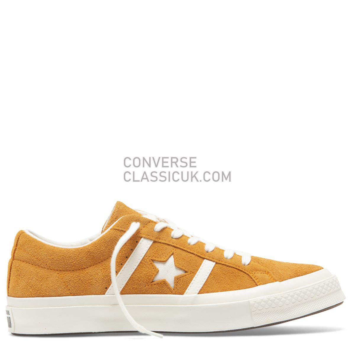 Converse One Star Academy Time Capsule Low Top Orange Rind Mens Womens Unisex 165023 Orange Rind/Egret/Egret Shoes