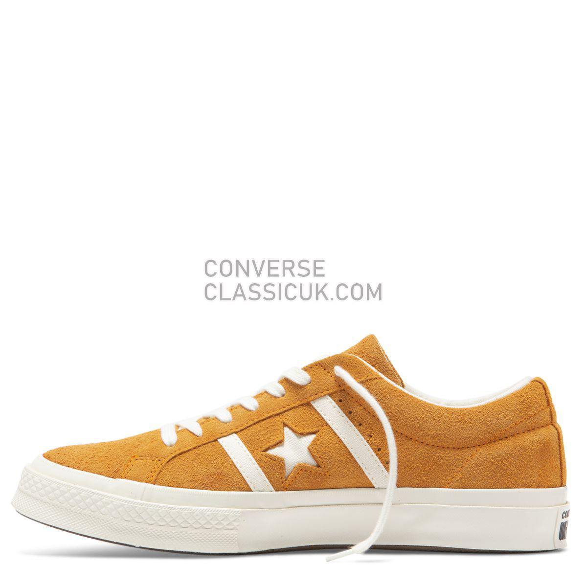 Converse One Star Academy Time Capsule Low Top Orange Rind Mens Womens Unisex 165023 Orange Rind/Egret/Egret Shoes