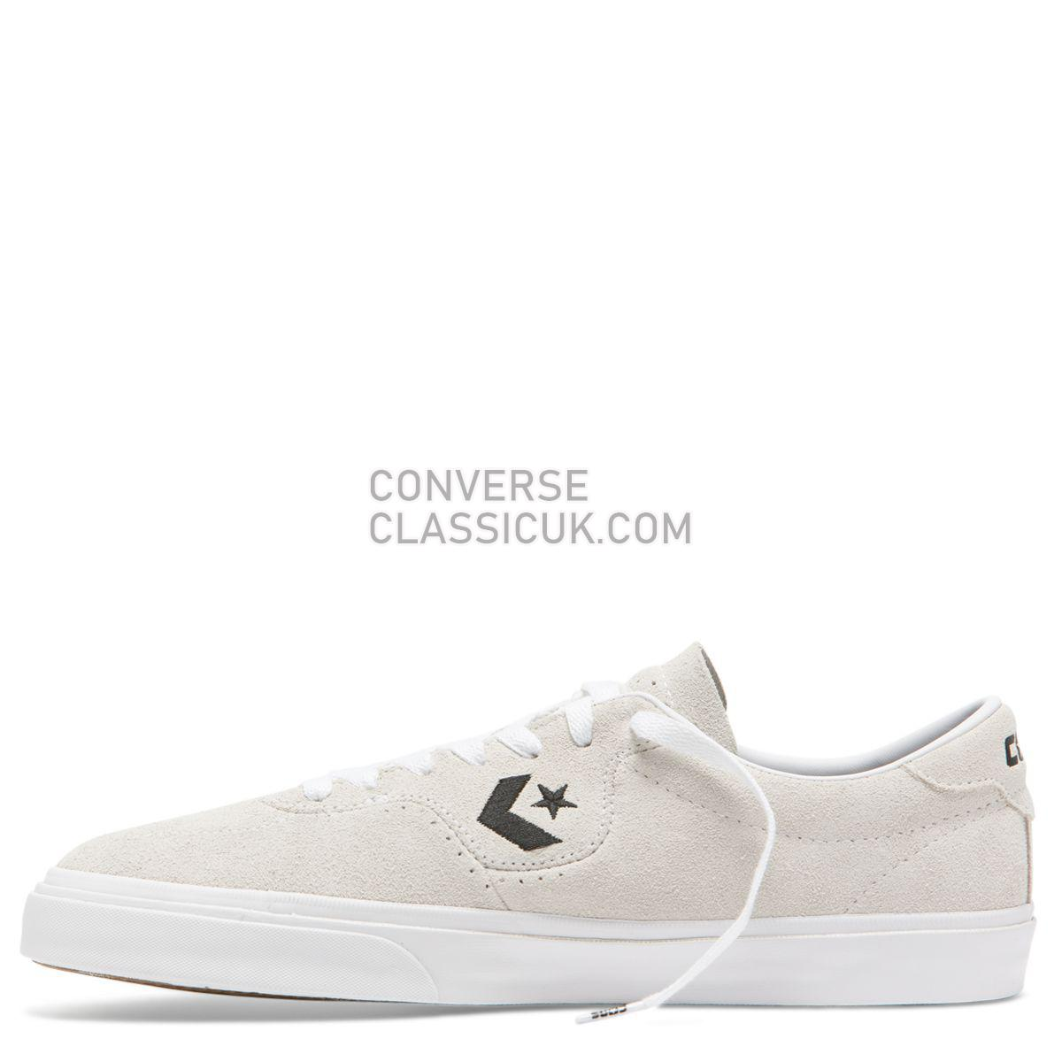 Converse CONS Louie Lopez Pro Low Top White Mens 163262 White/White/Black Shoes