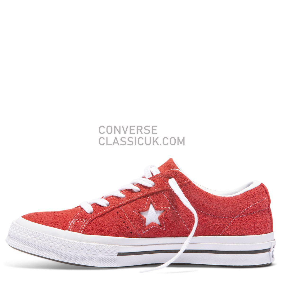 Converse Buy One Star Premium Suede Low Top Red Online Mens Womens Unisex 158434 Red/White Shoes