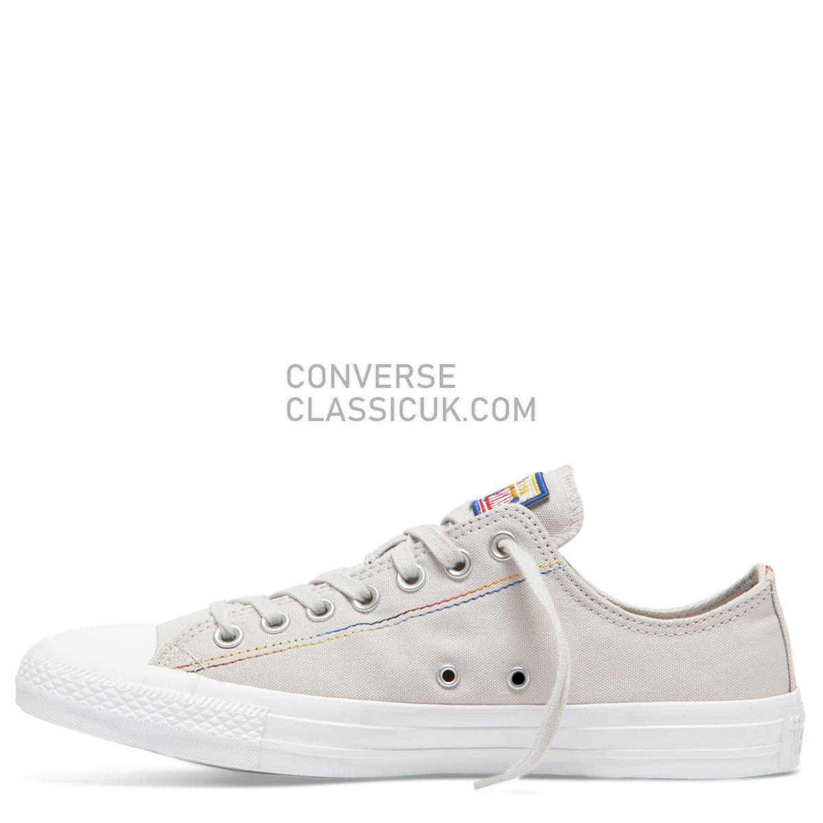Converse Chuck Taylor All Star Rainbow Low Top Pale Putty Mens Womens Unisex 165428 Pale Putty/White/Hyper Royal Shoes