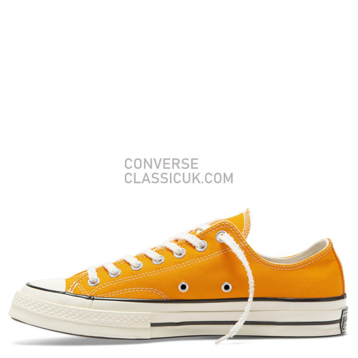 Converse Chuck Taylor All Star 70 Vintage Canvas Low Top Orange Rind Mens Womens Unisex 164928 Orange Rind/Egret/Black Shoes