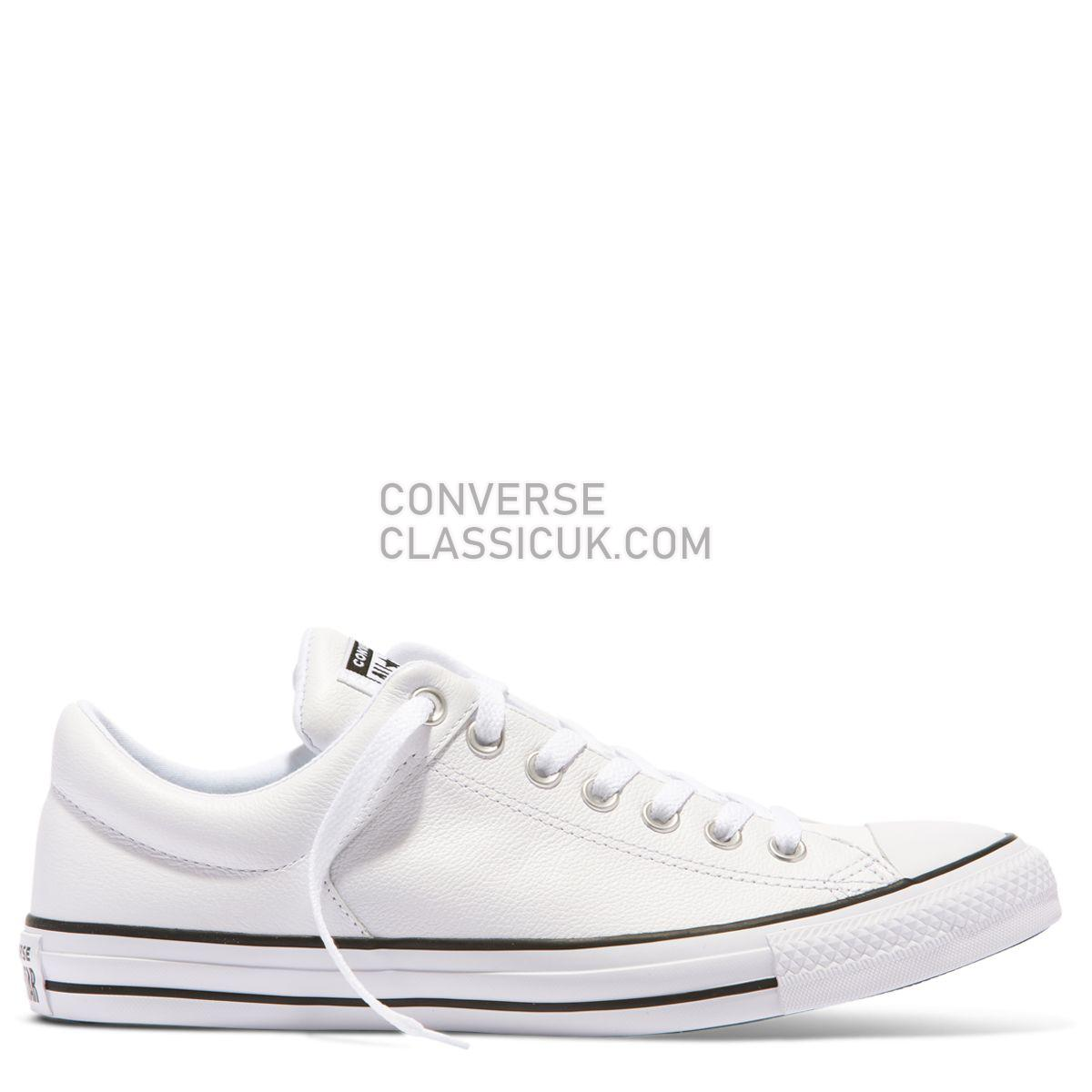 Converse Chuck Taylor All Star High Street Low Top White Mens Womens Unisex 149429 White/Black/White Shoes