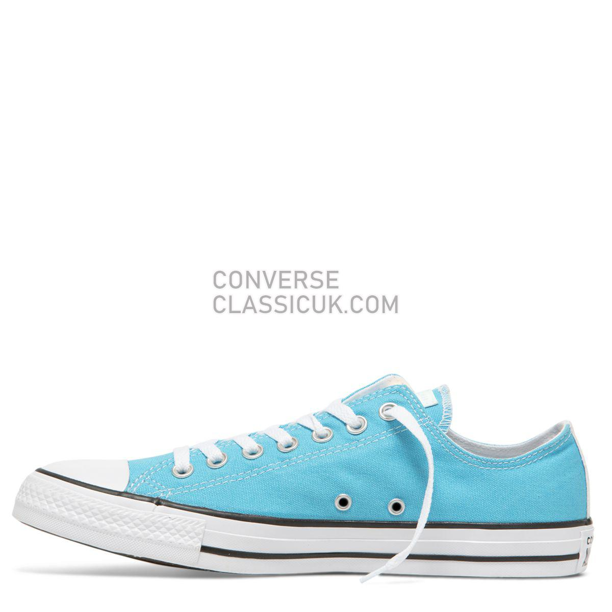 Converse Chuck Taylor All Star Impress Low Top Gnarly Blue/Iridescent Mens Womens Unisex 163793 Gnarly Blue/Iridescent/White Shoes