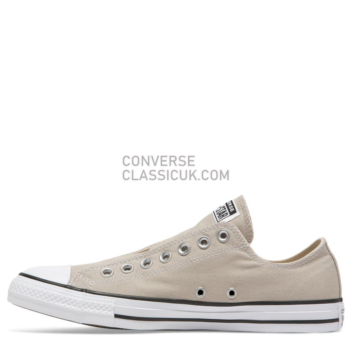 Converse Chuck Taylor All Star Seasonal Slip Low Top Papyrus Mens Womens Unisex 164302 Papyrus/White/Black Shoes