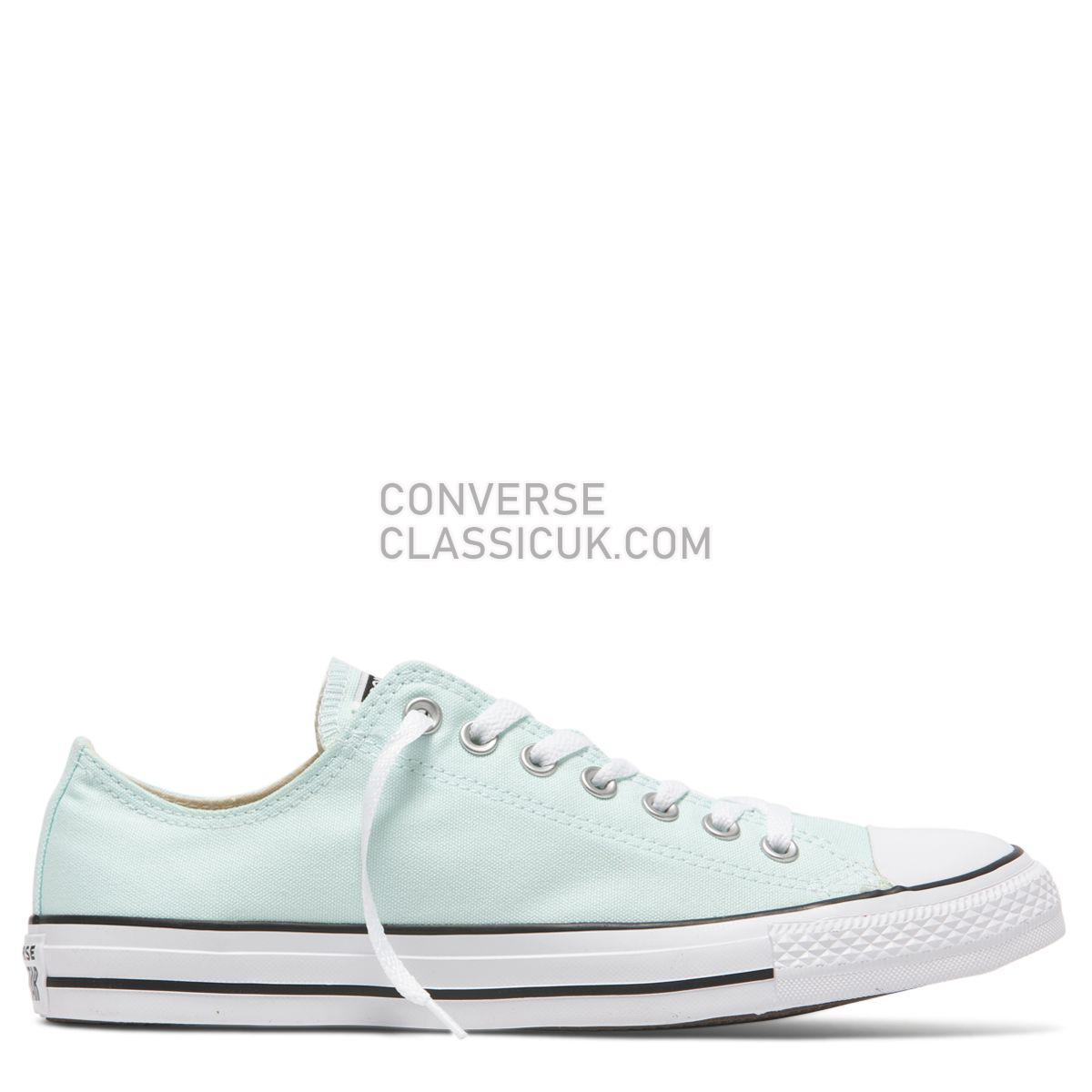 Converse Chuck Taylor All Star Seasonal Colour Low Top Teal Tint Mens Womens Unisex 163357 Teal Tint Shoes