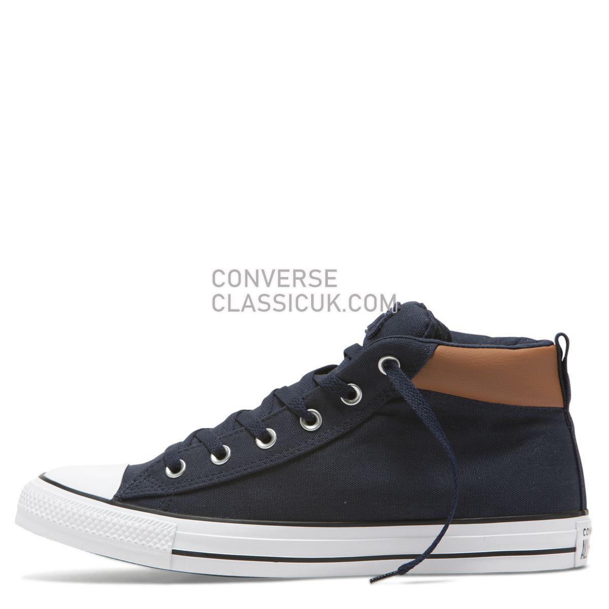 Converse Chuck Taylor All Star Street Space Explorer Mid Obsidian Mens 165390 Obsidian/Warm Tan/White Shoes