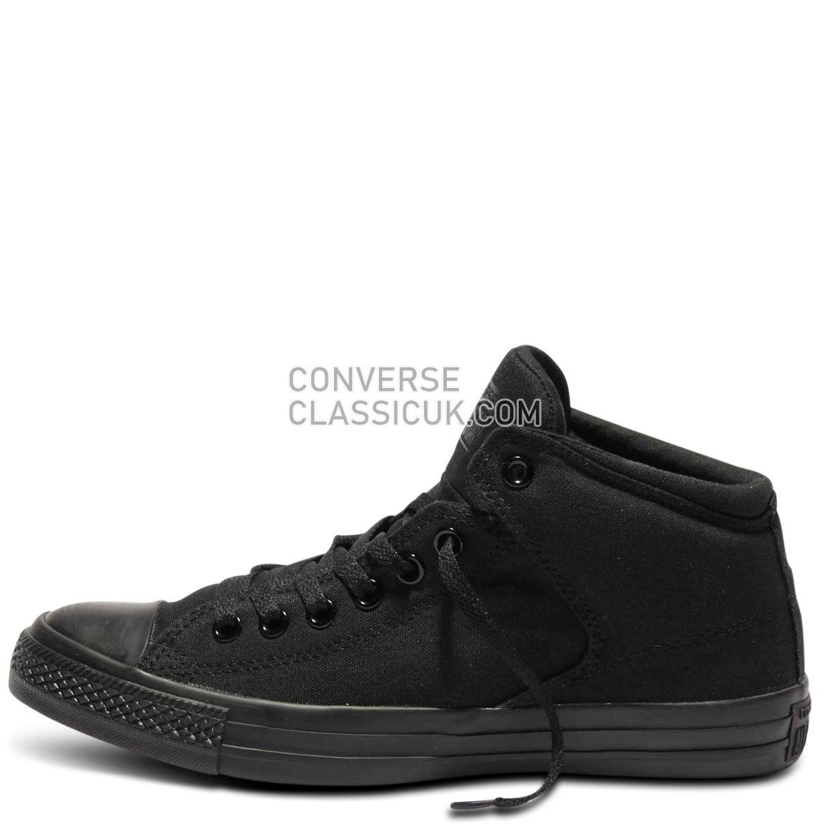 Converse Chuck Taylor All Star High Street Mid Black Mono | Free Shipping  | Buy authentic sneakers and gear direct from Converse Mens Womens Unisex 149432 Black/Black/Black Shoes