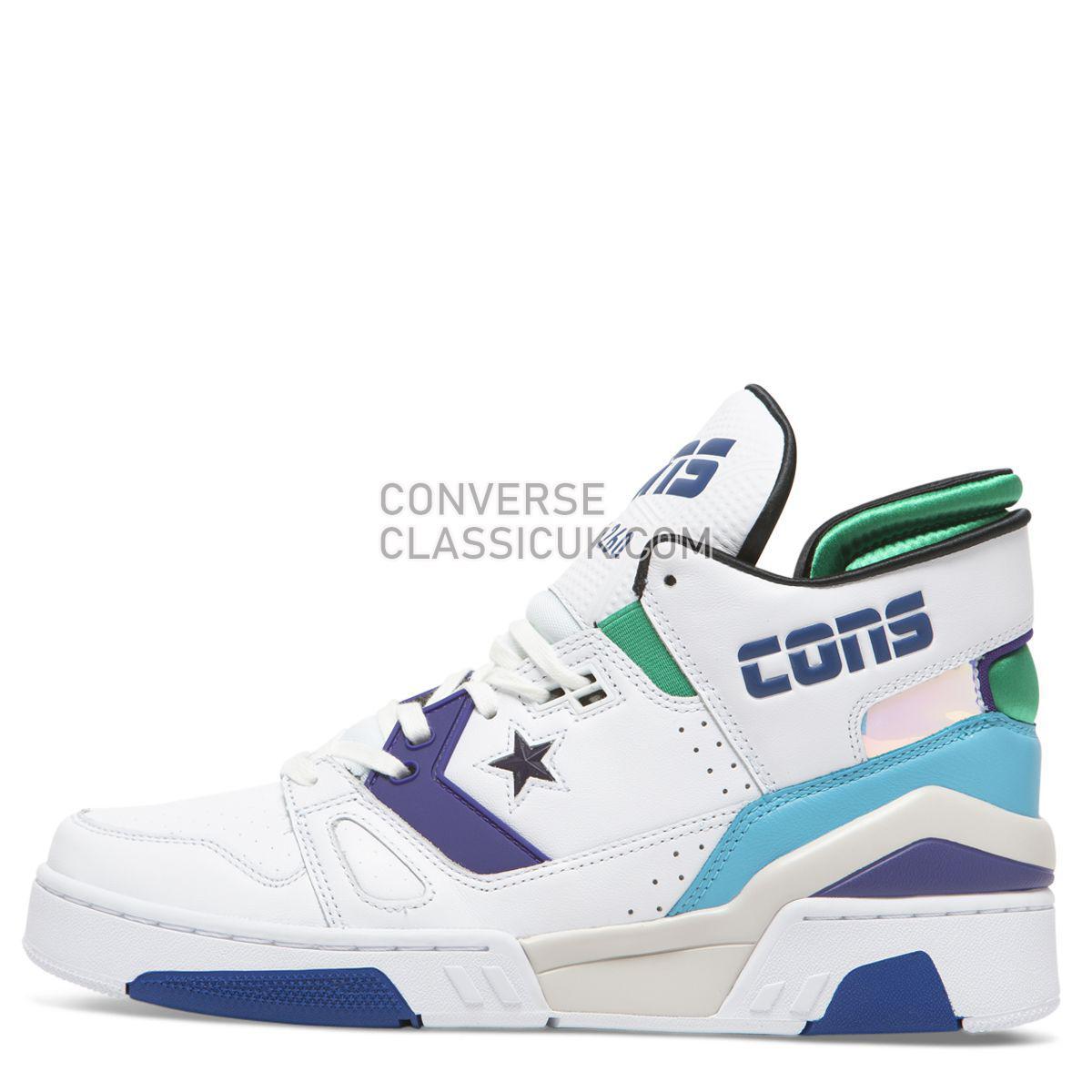 Converse X Don C ERX 260 Jewel Mid White/Court Purple Mens 163779 White/Court Purple/Bold Jade Shoes