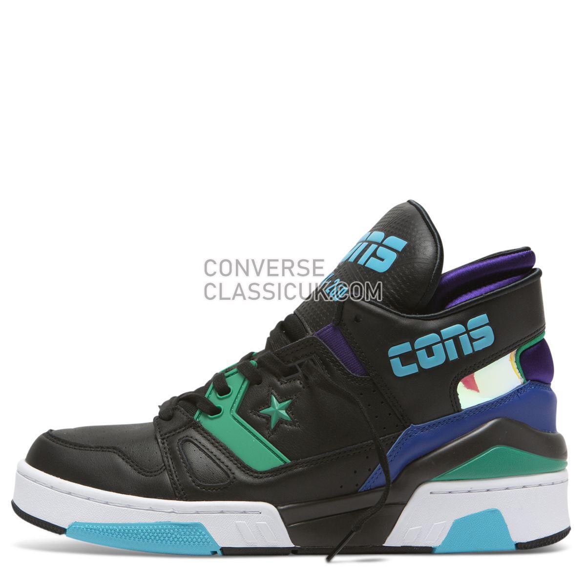 Converse X Don C ERX 260 Jewel Mid Black/Court Purple Mens 164386 Black/Court Purple/Bold Jade Shoes