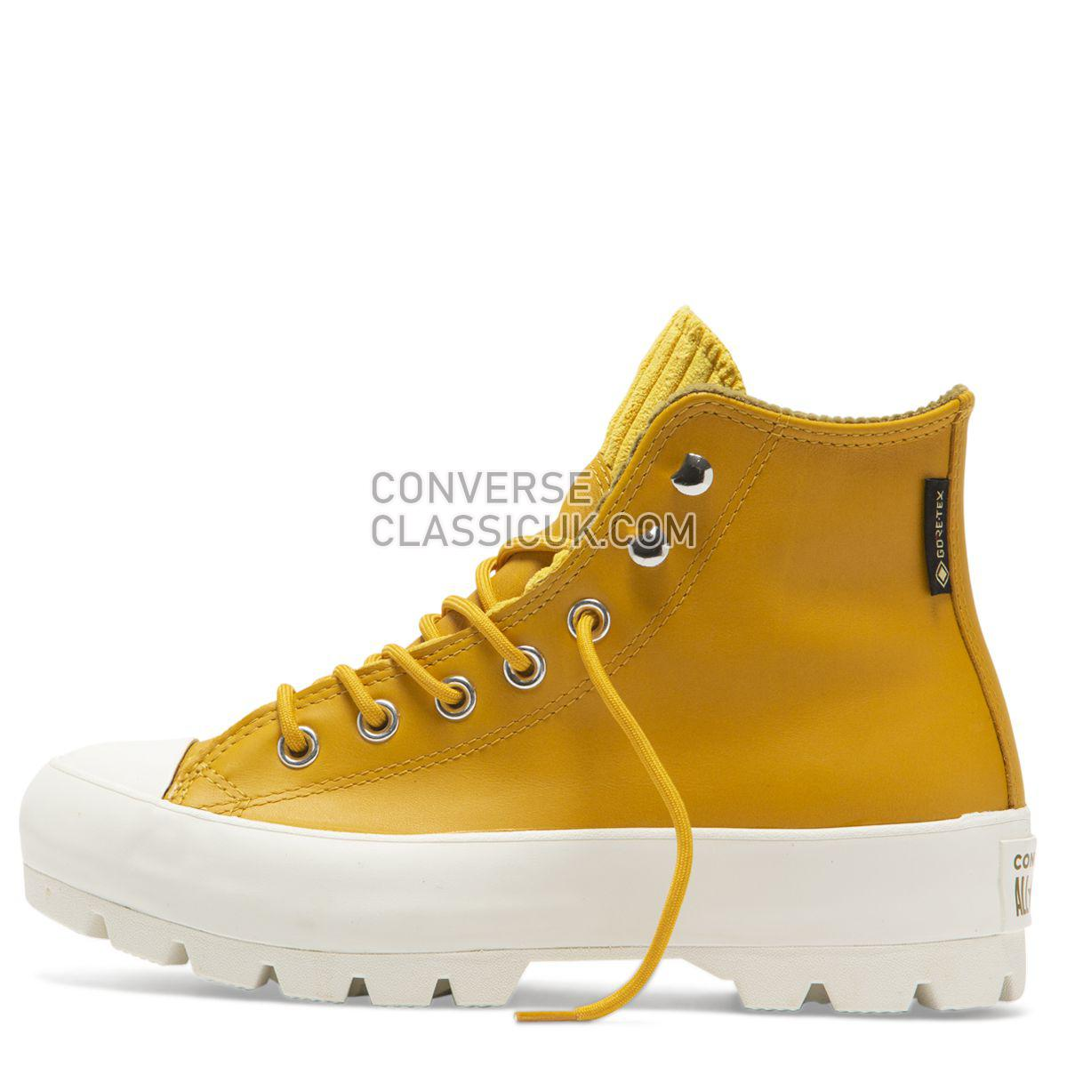 Converse Chuck Taylor All Star Lugged Winter Retrograde High Top Gold Dart Womens 565005 Gold Dart/Olive Flak/Egret Shoes