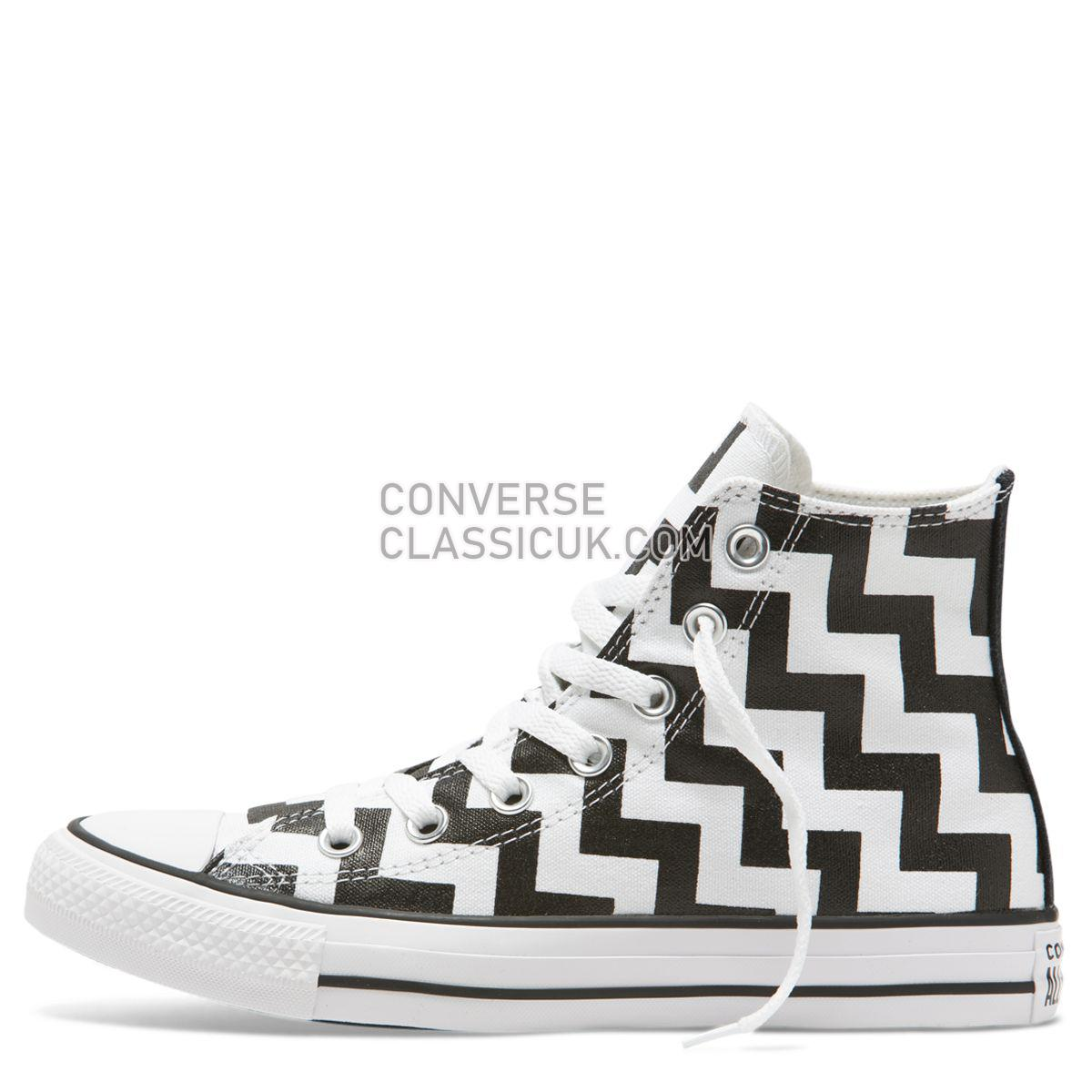 Converse Chuck Taylor All Star Glam Dunk High Top White Womens 565213 White/Black/White Shoes