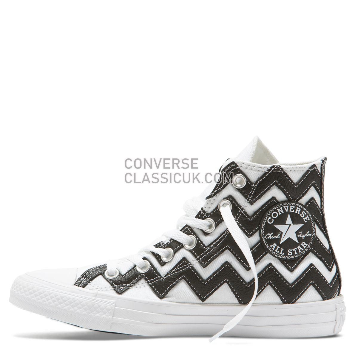 Converse Chuck Taylor All Star Mission-V High Top White Womens 565376 White/Black/White Shoes