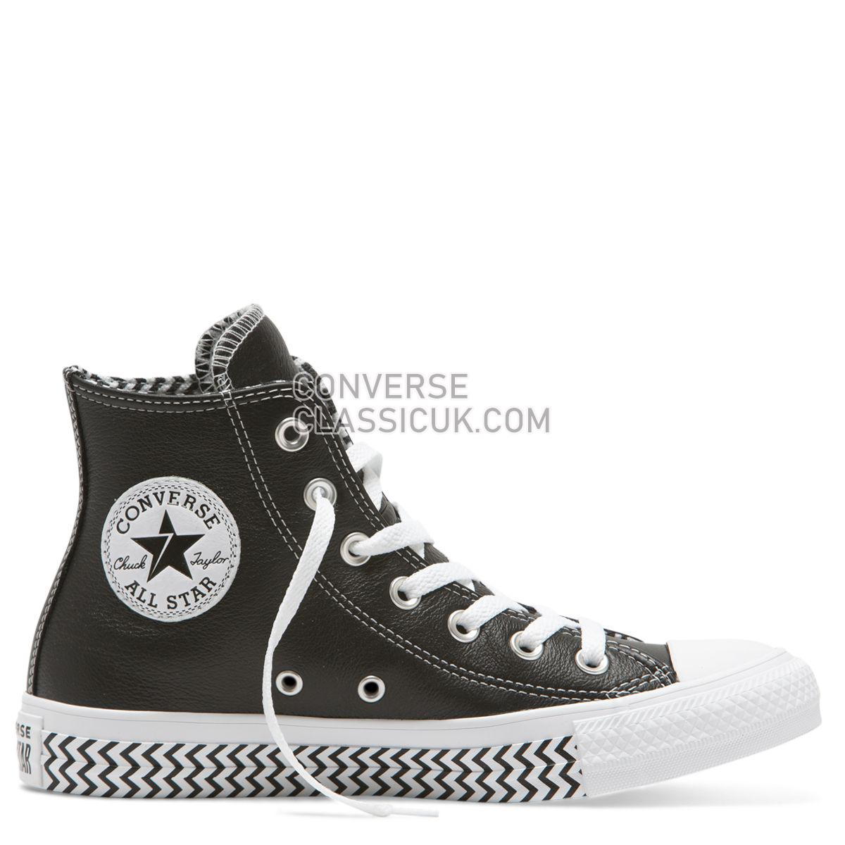 Converse Chuck Taylor All Star Mission-V High Top Black Womens 564943 Black/White/White Shoes