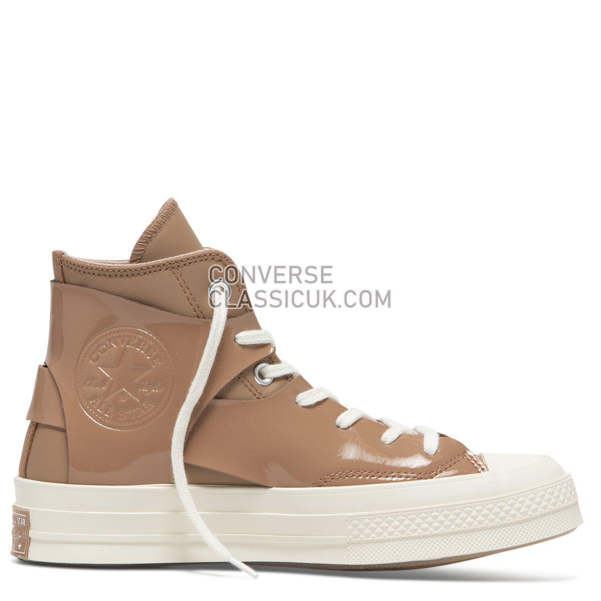 Converse X Feng Chen Wang Chuck Taylor All Star 70 High Top Cafe Au Lait Womens 565540 Cafe Au Lait/Egret/Cameo Rose Shoes