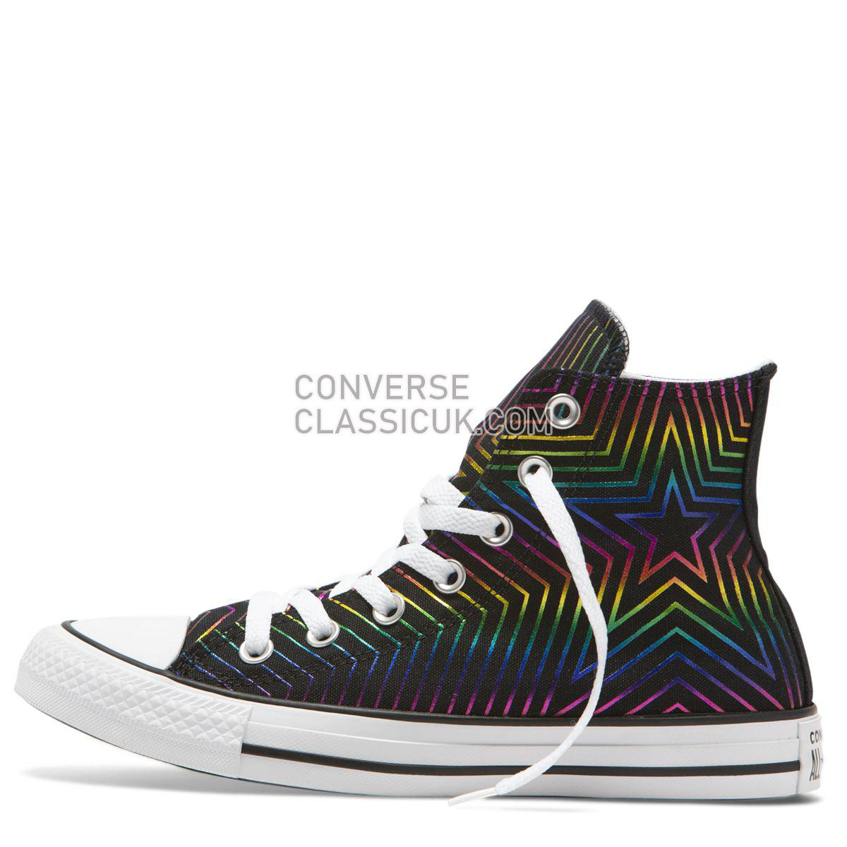 Converse Chuck Taylor All Star All Of The Stars High Top Black Womens 565395 Black/White/White Shoes