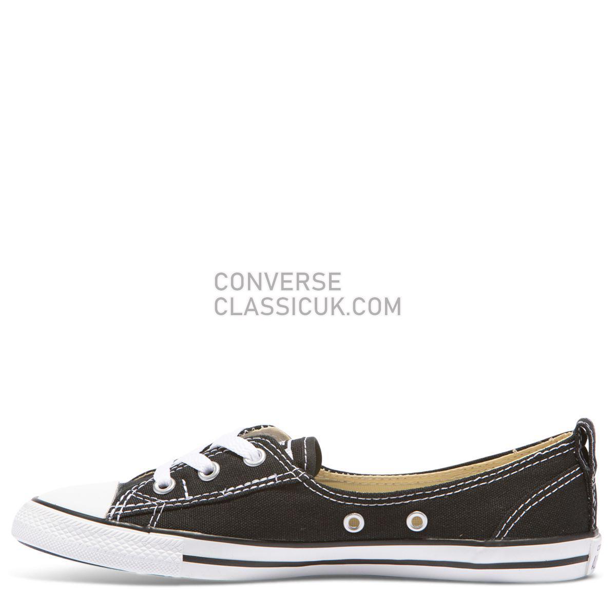 Converse Chuck Taylor All Star Dainty Ballet Slip Black Womens 547162 Black Shoes