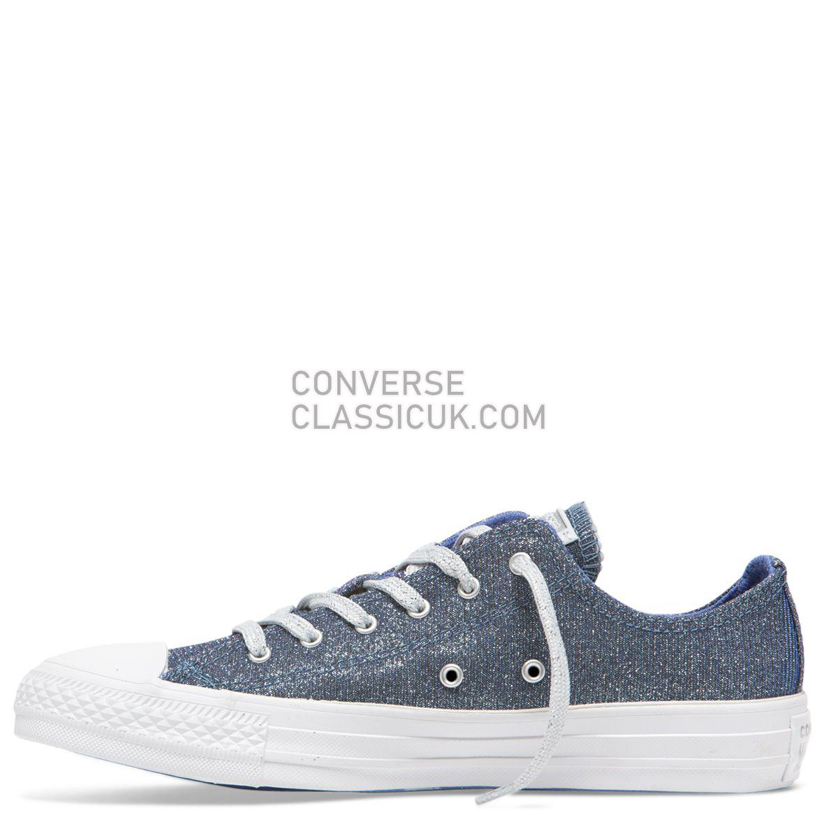 Converse Chuck Taylor All Star Starware Low Top Ozone Blue Womens 564916 Ozone Blue/Light Skye Blue/Pure Platinum Shoes