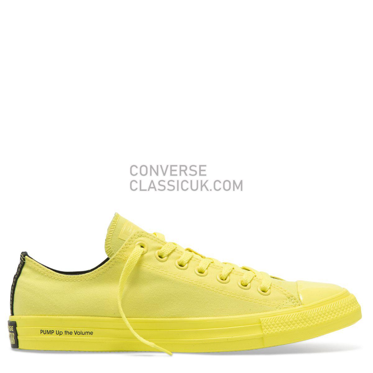 Converse X OPI Chuck Taylor All Star Low Top Zinc Yellow Womens 165660 Zinc Yellow/Zinc Yellow Shoes