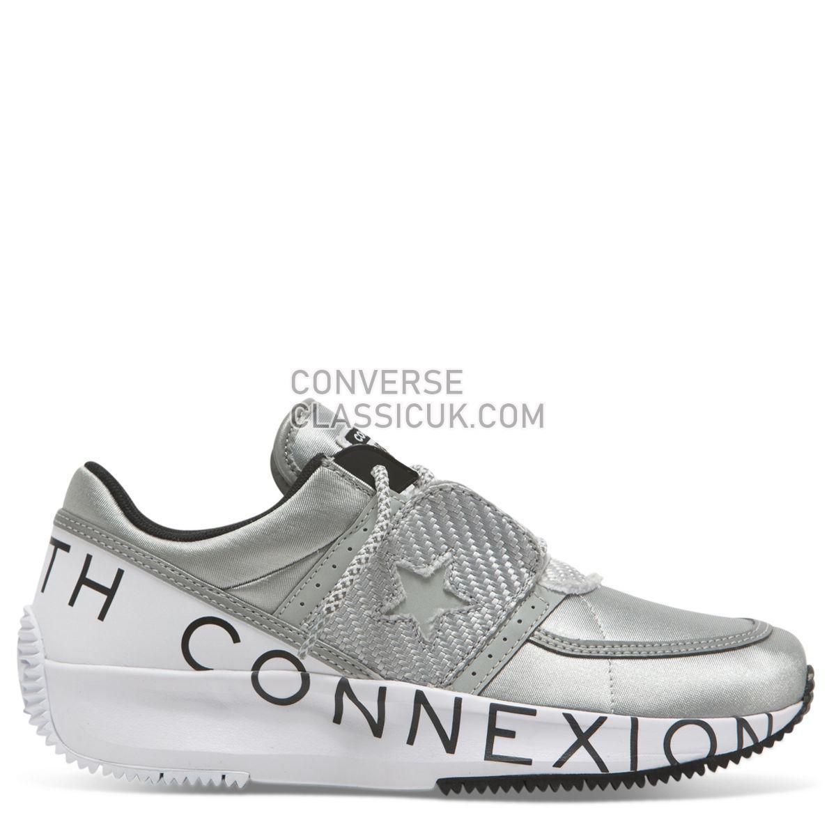 Converse X Faith Connexion Run Star Low Top Harbour Mist Womens 565537 Harbour Mist/Black Shoes