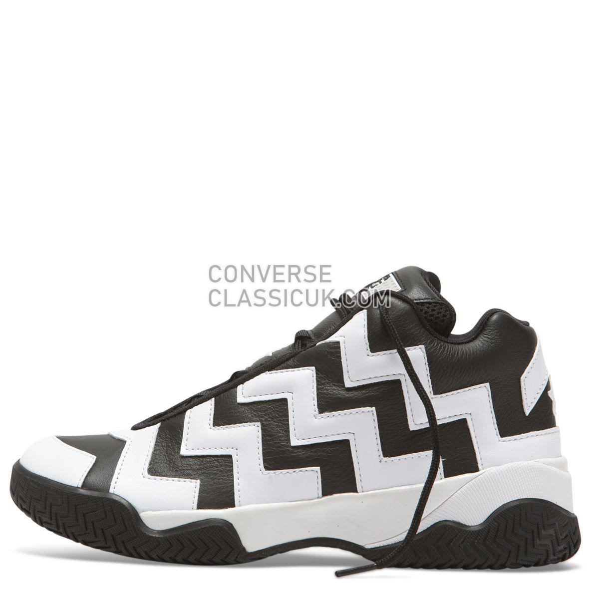 Converse Chuck Taylor All Star VLTG Mission-V Mid Black Womens 565061 Black/White/Black Shoes