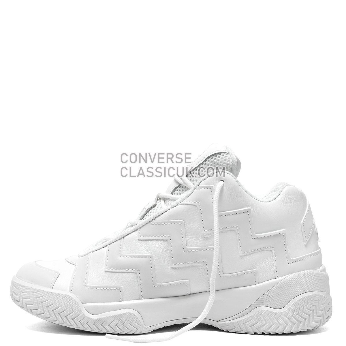 Converse Chuck Taylor All Star VLTG Mission-V Mid White Mono Womens 565062 White/White/White Shoes