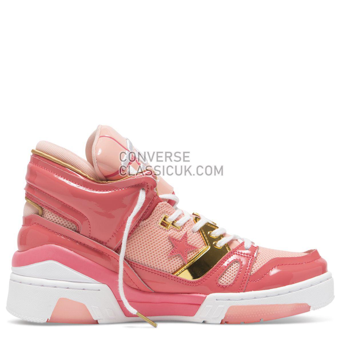 Converse X Feng Chen Wang ERX 260 Mid Calypso Coral Womens 565601 Calypso Coral/Apricot Blush Shoes