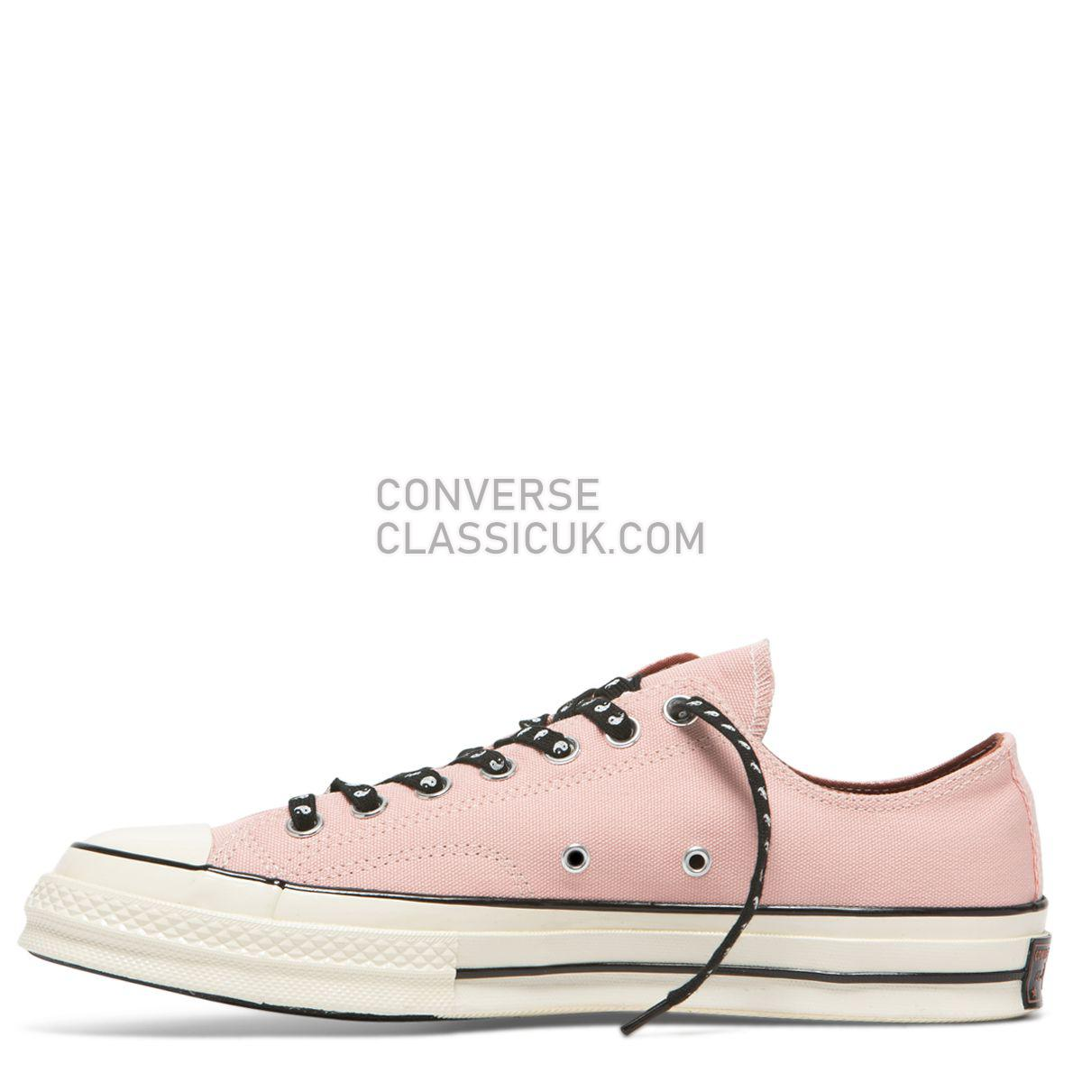 Converse Chuck Taylor All Star 70 Psy-Kicks Low Top Bleached Coral Mens Womens Unisex 164212 Bleached Coral/Dusty Peach/Egret Shoes