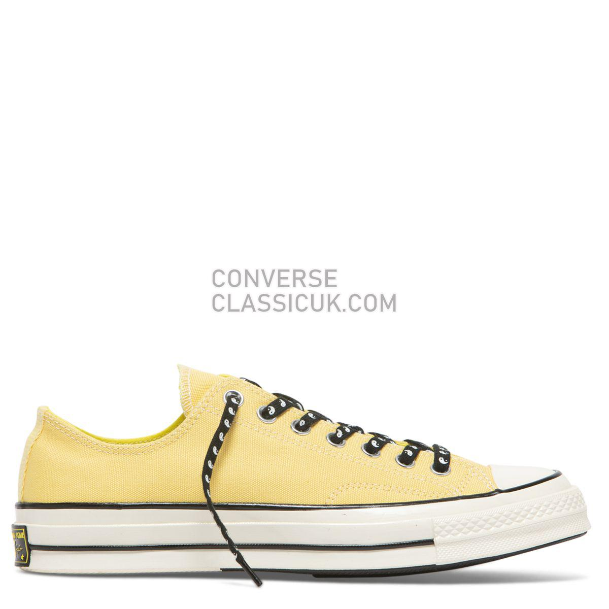 Converse Chuck Taylor All Star 70 Psy-Kicks Low Top Butter Yellow Mens Womens Unisex 164214 Butter Yellow/Fresh Yellow/Egret Shoes