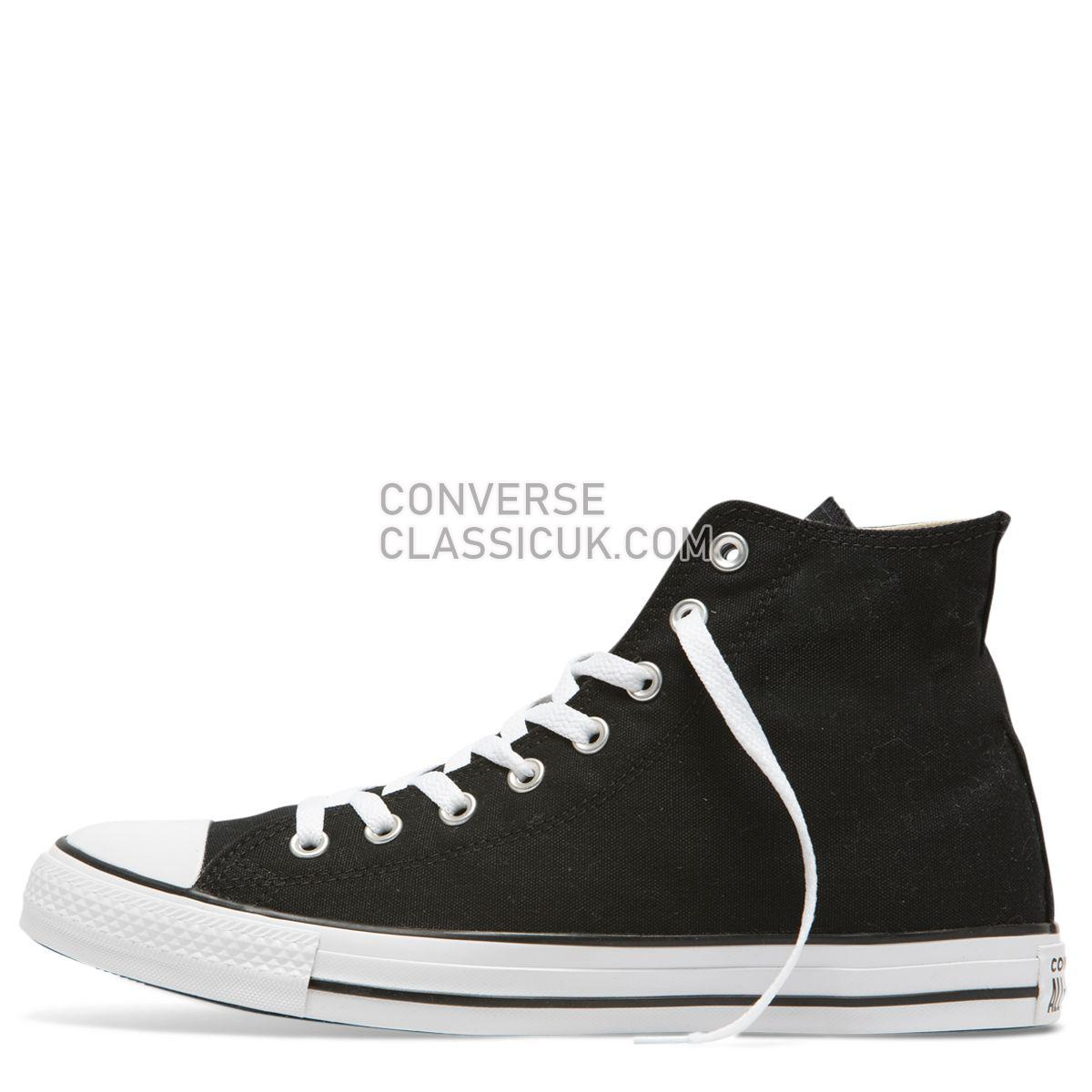 Converse Chuck Taylor All Star Oversized Logo High Top Black Mens Womens Unisex 165694 Black/White/Black Shoes