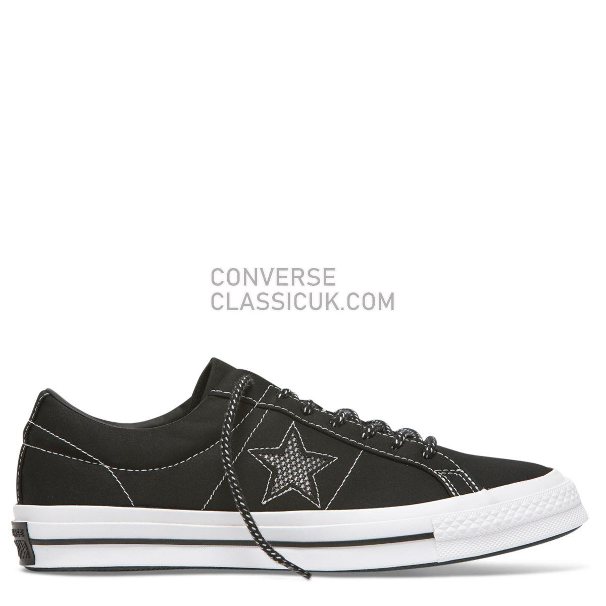 Converse One Star Get Tubed Low Top Black Mens Womens Unisex 164221 Black/White/Fresh Yellow Shoes
