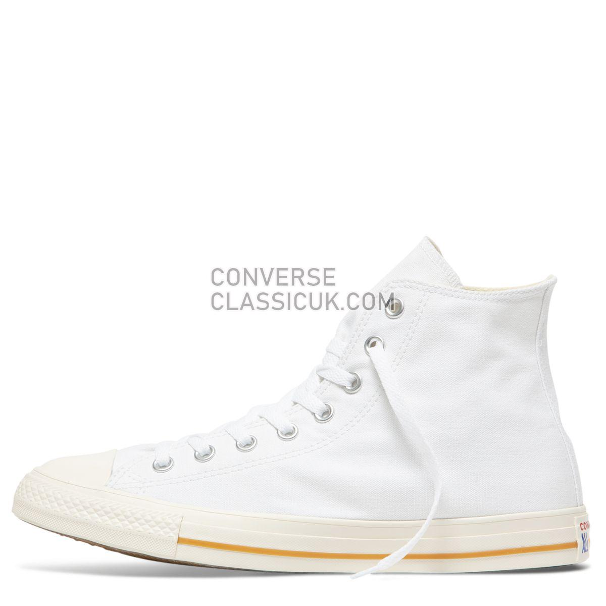 Converse Chuck Taylor All Star Cali Wash High Top White Mens Womens Unisex 165690 White/Egret/Egret Shoes