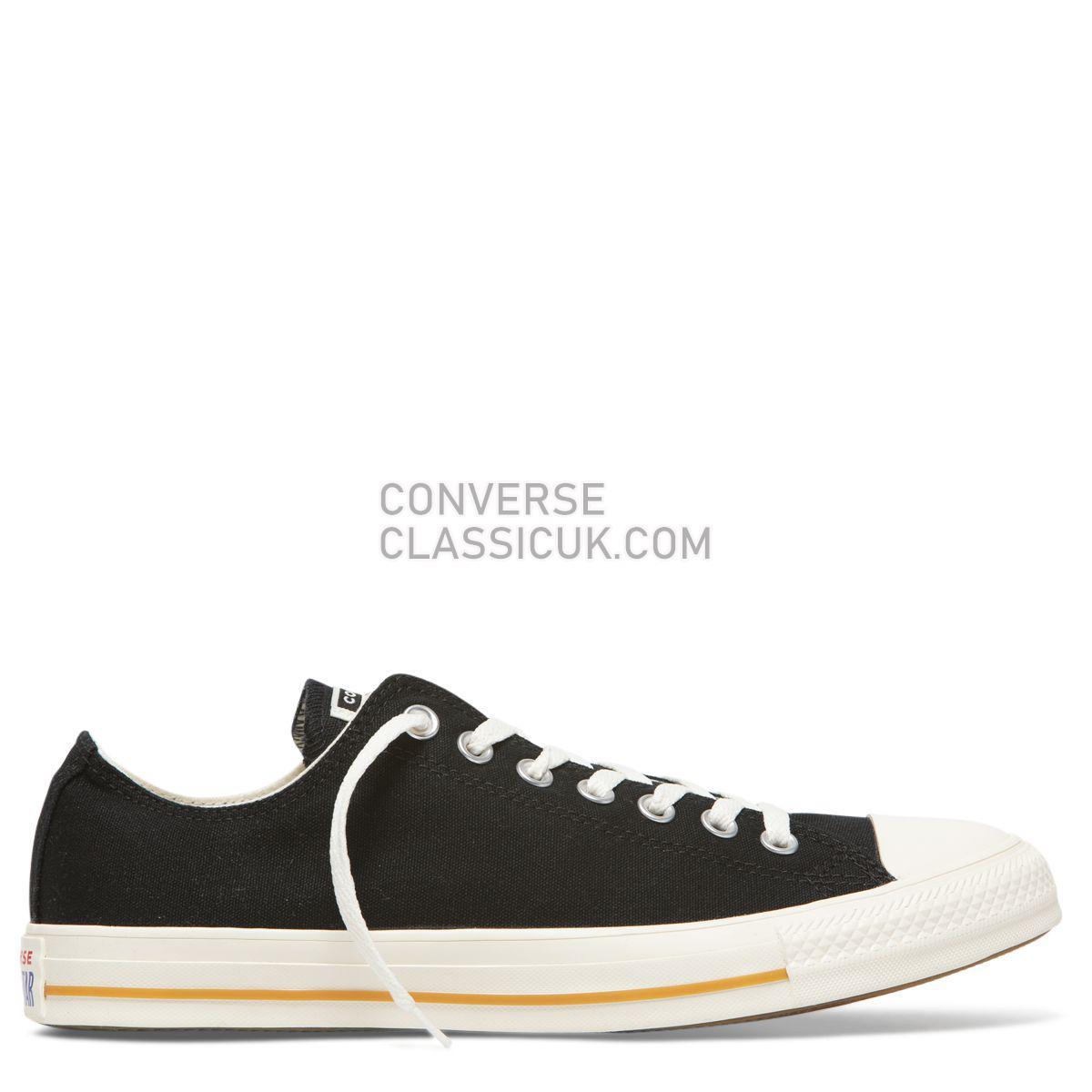 Converse Chuck Taylor All Star Cali Wash Low Top Black Mens Womens Unisex 165691 Black/Egret/Egret Shoes