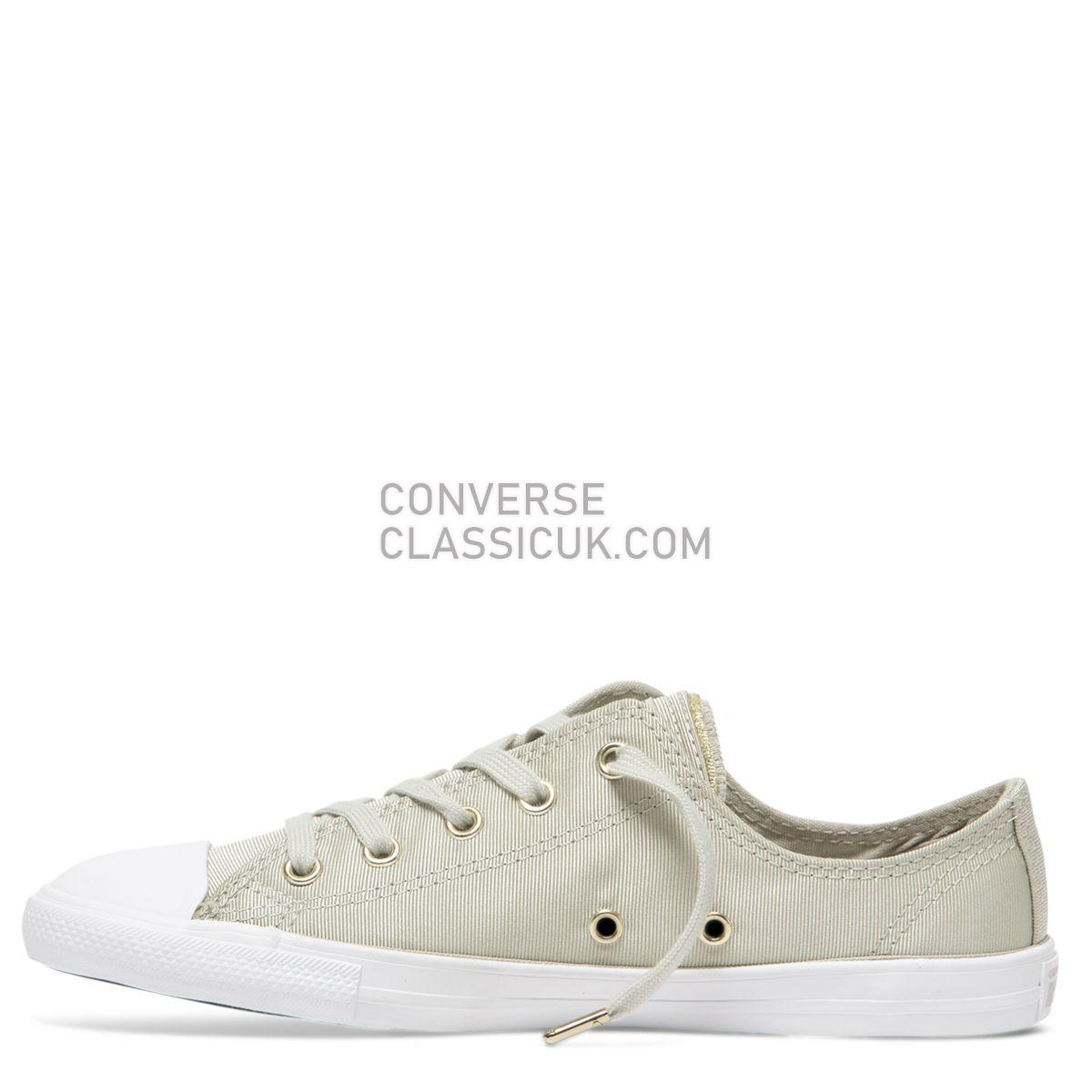 Converse Chuck Taylor All Star Dainty Summer Palms Low Top Light Surplus Womens 564307 Light Surplus/Field Surplus/Light Gold Shoes