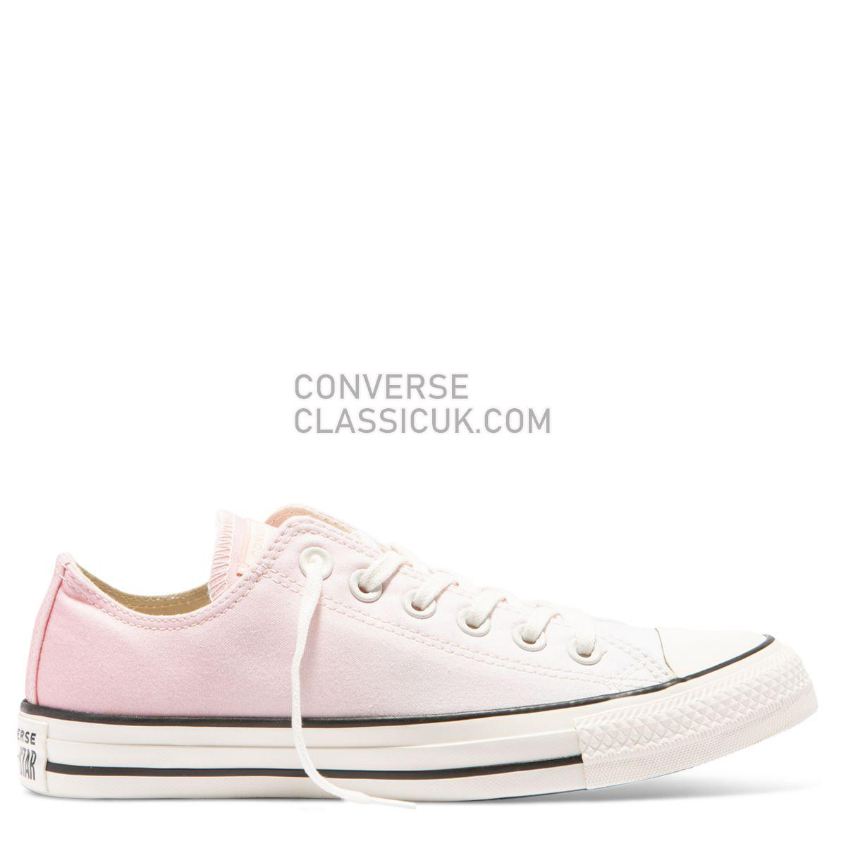 Converse Chuck Taylor All Star Ombre Wash Low Top Storm Pink Womens 561723 Storm Pink/Egret/Egret Shoes