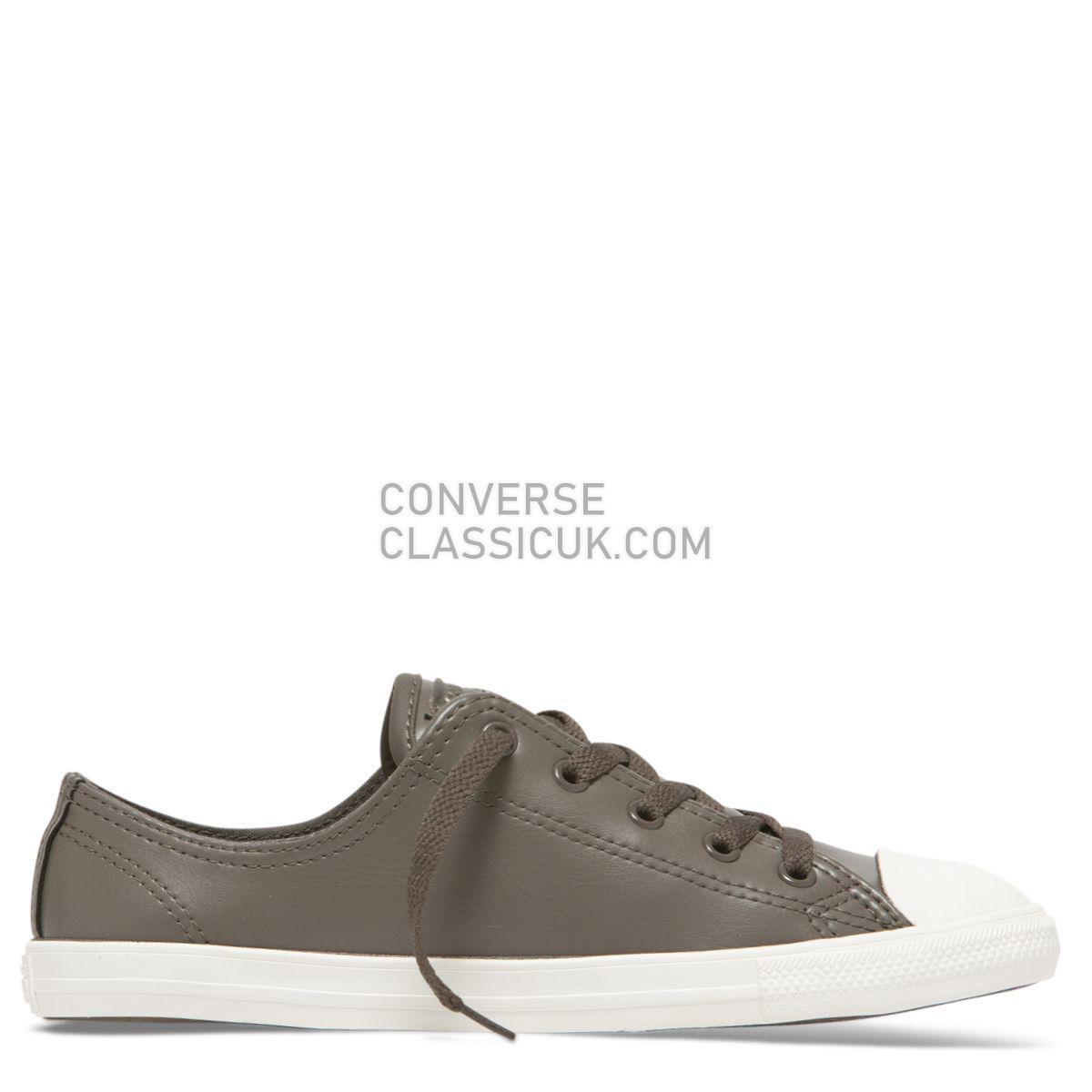 Converse Chuck Taylor All Star Dainty Craft Low Top Ridgerock Womens 564428 Ridgerock/Ridgerock/Vintage White Shoes