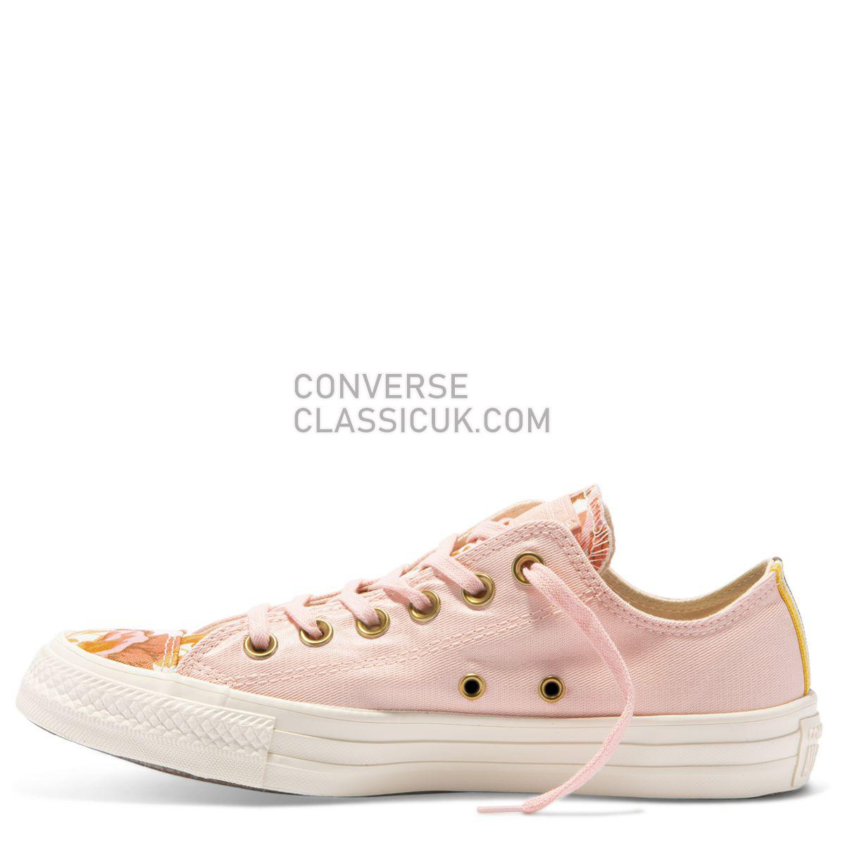 Converse Chuck Taylor All Star Parkway Floral Low Top Storm Pink Womens 561664 Storm Pink/Field Surplus/Egret Shoes