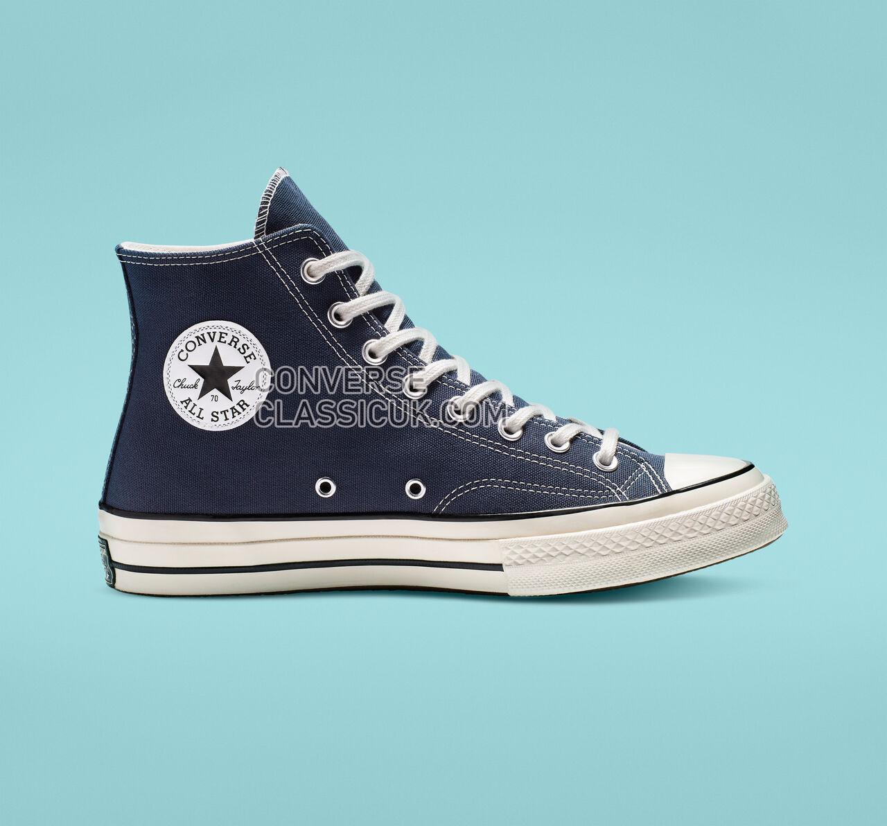 Converse Chuck 70 High Top Mens Womens Unisex 164945C Obsidian/Egret/Black Shoes