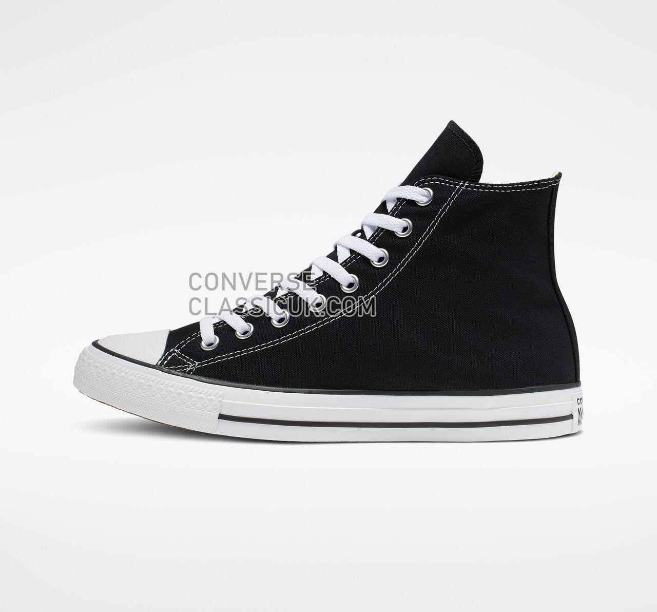 Converse Chuck Taylor All Star High Top Mens Womens Unisex M9160 Black Shoes