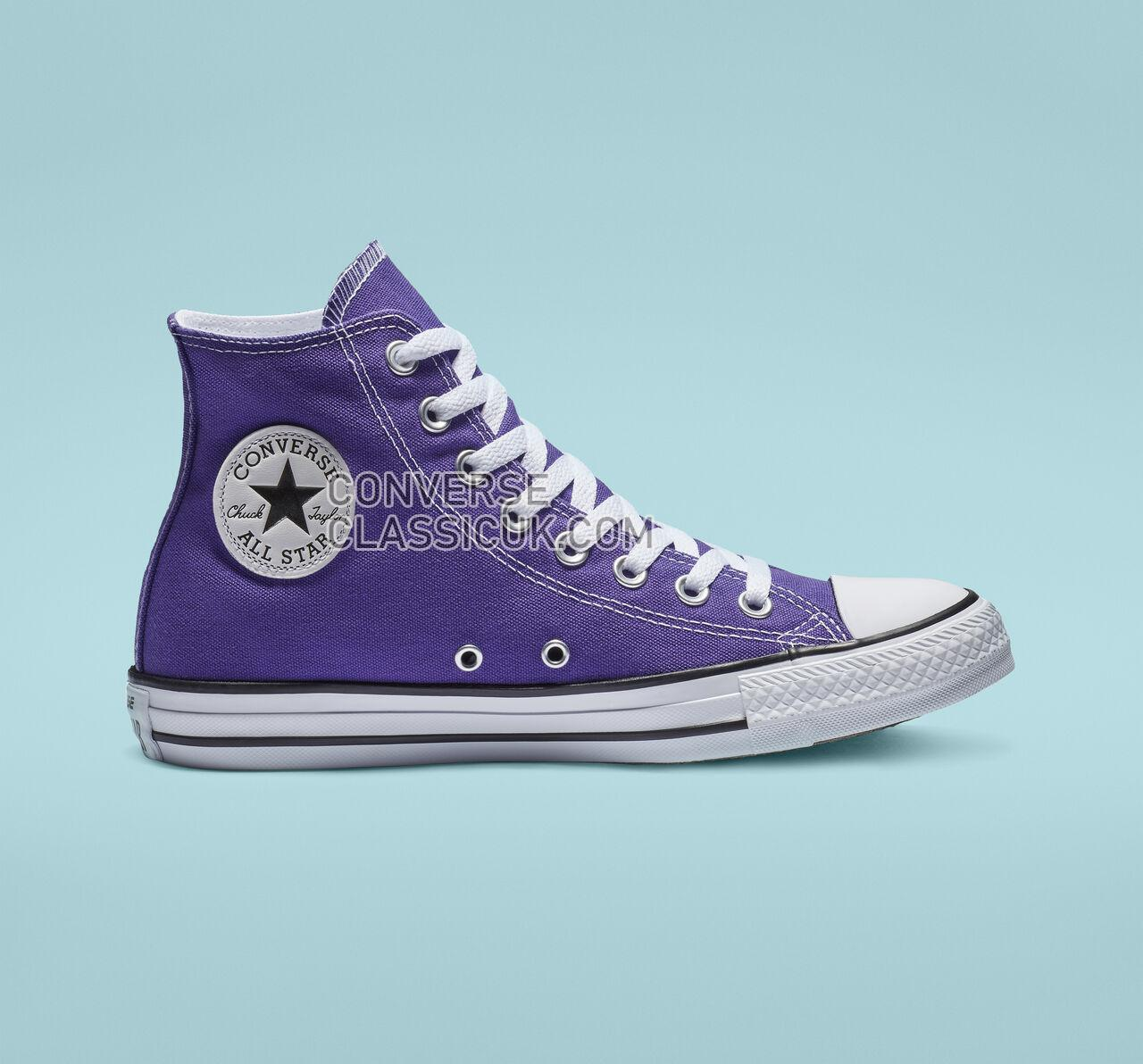 Converse Chuck Taylor All Star High Top Mens Womens Unisex 137833F Electric Purple Shoes