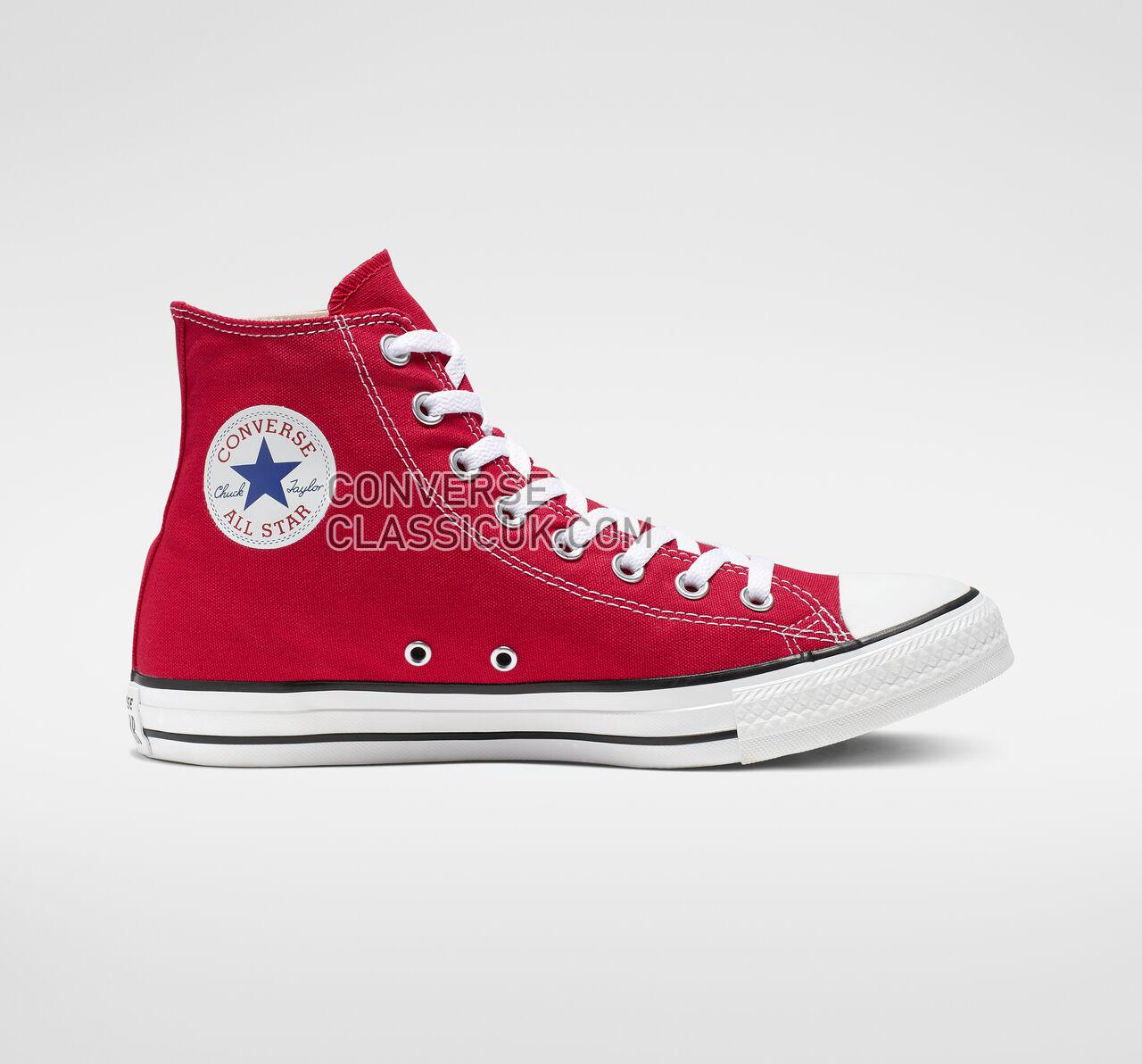 Converse Chuck Taylor All Star High Top Mens Womens Unisex M9621 Red Shoes