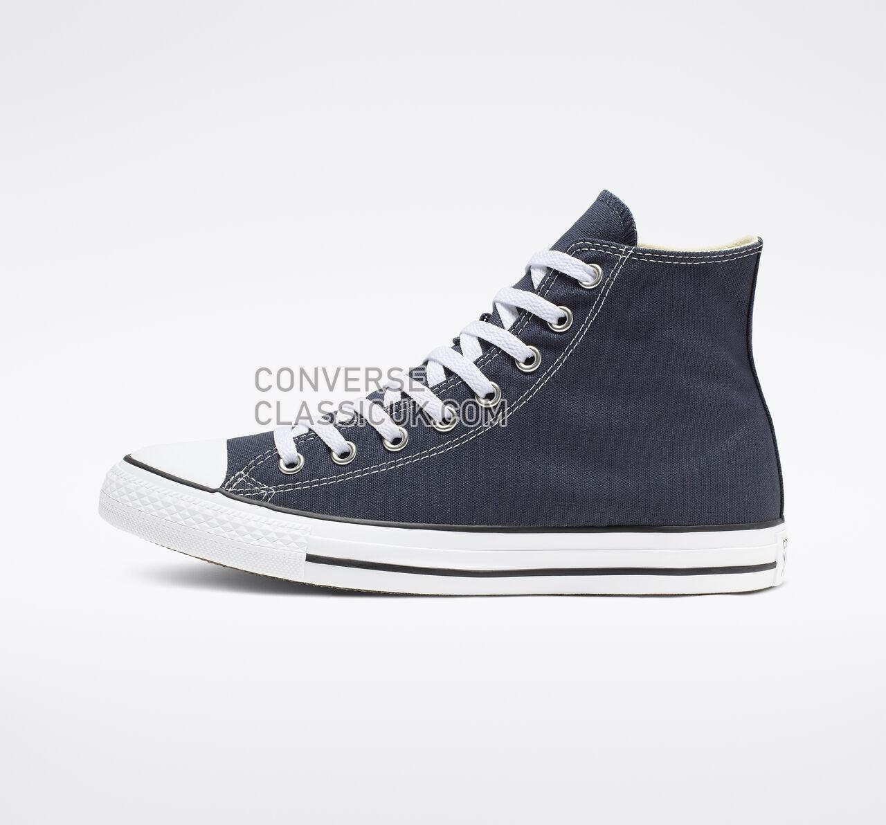 Converse Chuck Taylor All Star High Top Mens Womens Unisex M9622 Navy Shoes