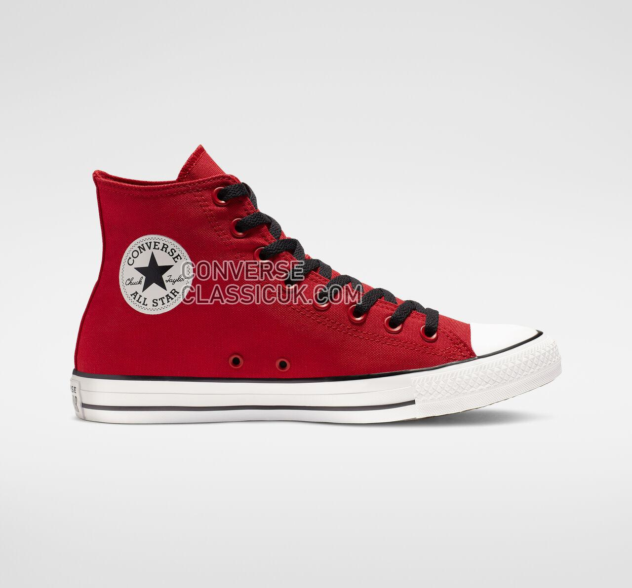 Converse Chuck Taylor All Star We Are Not Alone High Top Mens Womens Unisex 165467F Enamel Red/Black/White Shoes