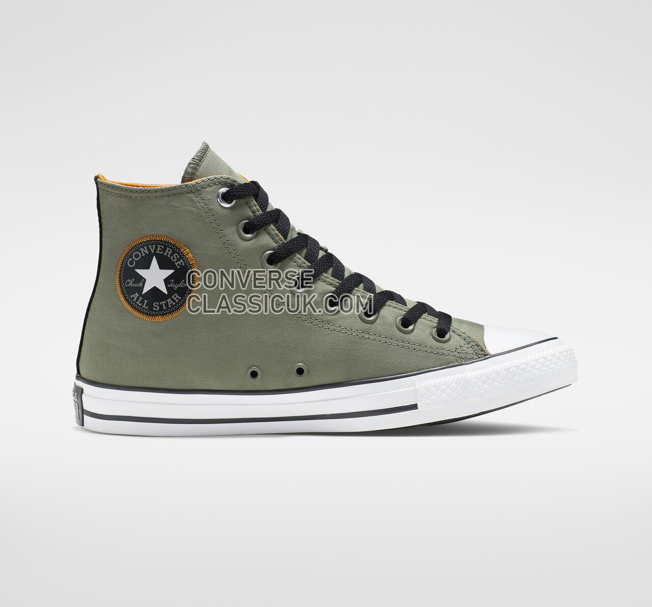 Converse Chuck Taylor All Star Space Explorer High Top Mens Womens Unisex 164881F Jade Stone/Black/White Shoes