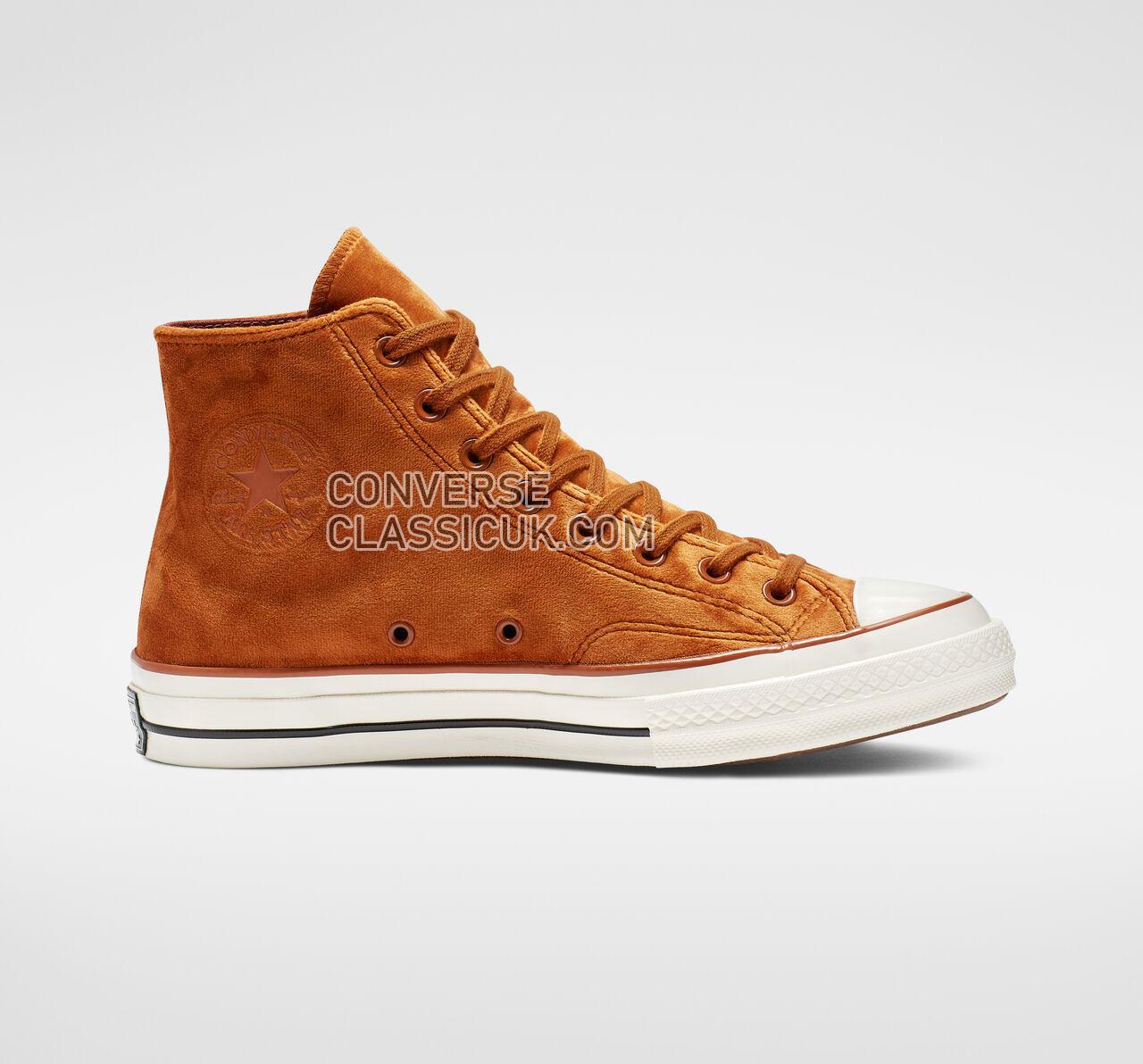 Converse Chuck 70 Velvet High Top Mens Womens Unisex 165171C Burnt Sienna/Burnt Sienna Shoes