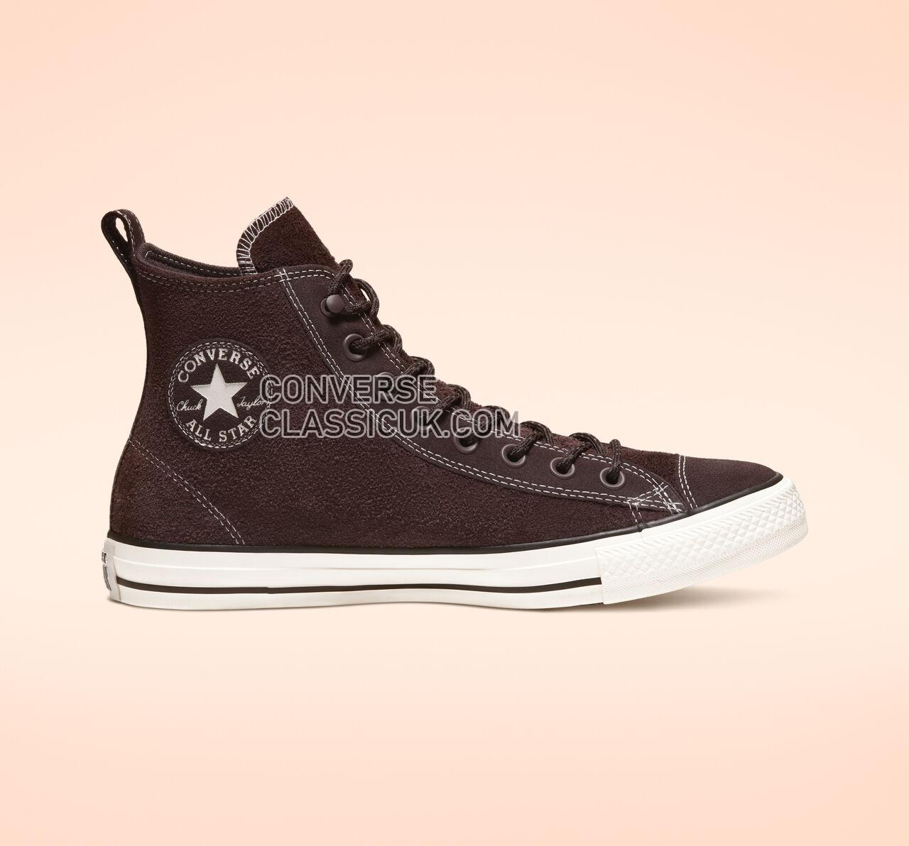 Converse Chuck Taylor All Star Suede High Top Mens Womens Unisex 165844C Burnt Umber/Egret/Black Shoes