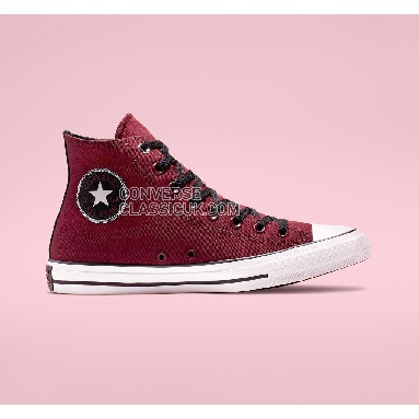 Converse Chuck Taylor All Star Space Explorer High Top Mens Womens Unisex 164879F Back Alley Brick/White/Black Shoes
