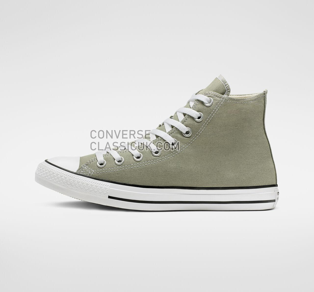 Converse Chuck Taylor All Star Seasonal Color High Top Mens Womens Unisex 164933F Jade Stone Shoes