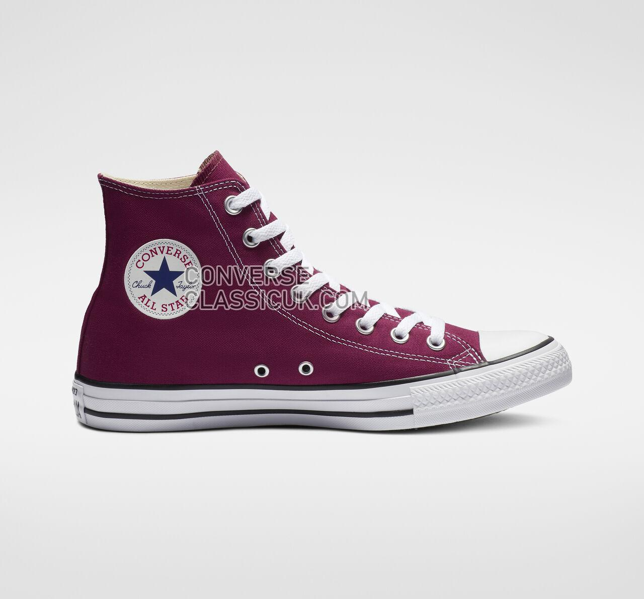Converse Chuck Taylor All Star High Top Mens Womens Unisex M9613 Maroon Shoes