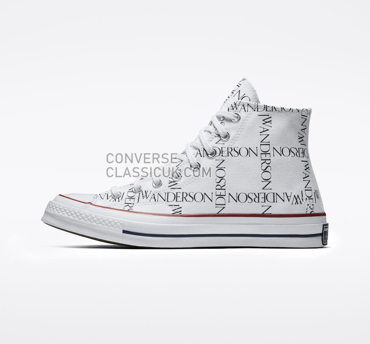 Converse x JW Anderson Chuck 70 Grid Mens Womens Unisex 160808C White/Black/Insignia Red Shoes